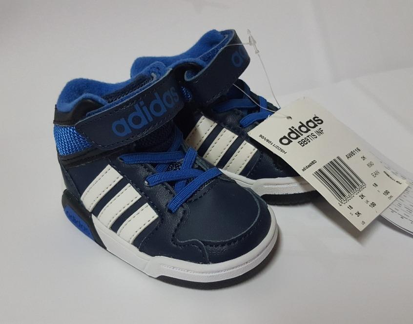 31417fdf Zapatillas adidas Botitas Bebe Talle 18/ 19 - $ 750,00 en Mercado Libre