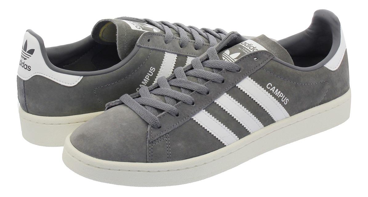 Zapatillas adidas Campus Hombre Talle 40 Uk8 Us8.5 Bz0085