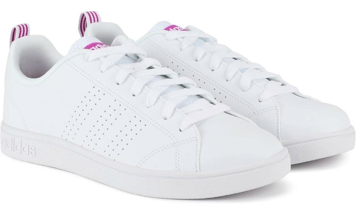 Zapatillas adidas Cloudfoam Advantage Blancas Mujer Ndpm