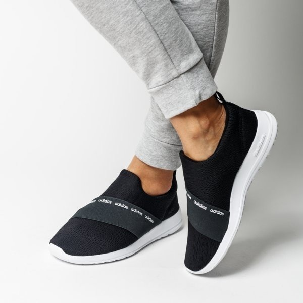 Zapatillas adidas Cloudfoam Refine Adapt Dama Negra