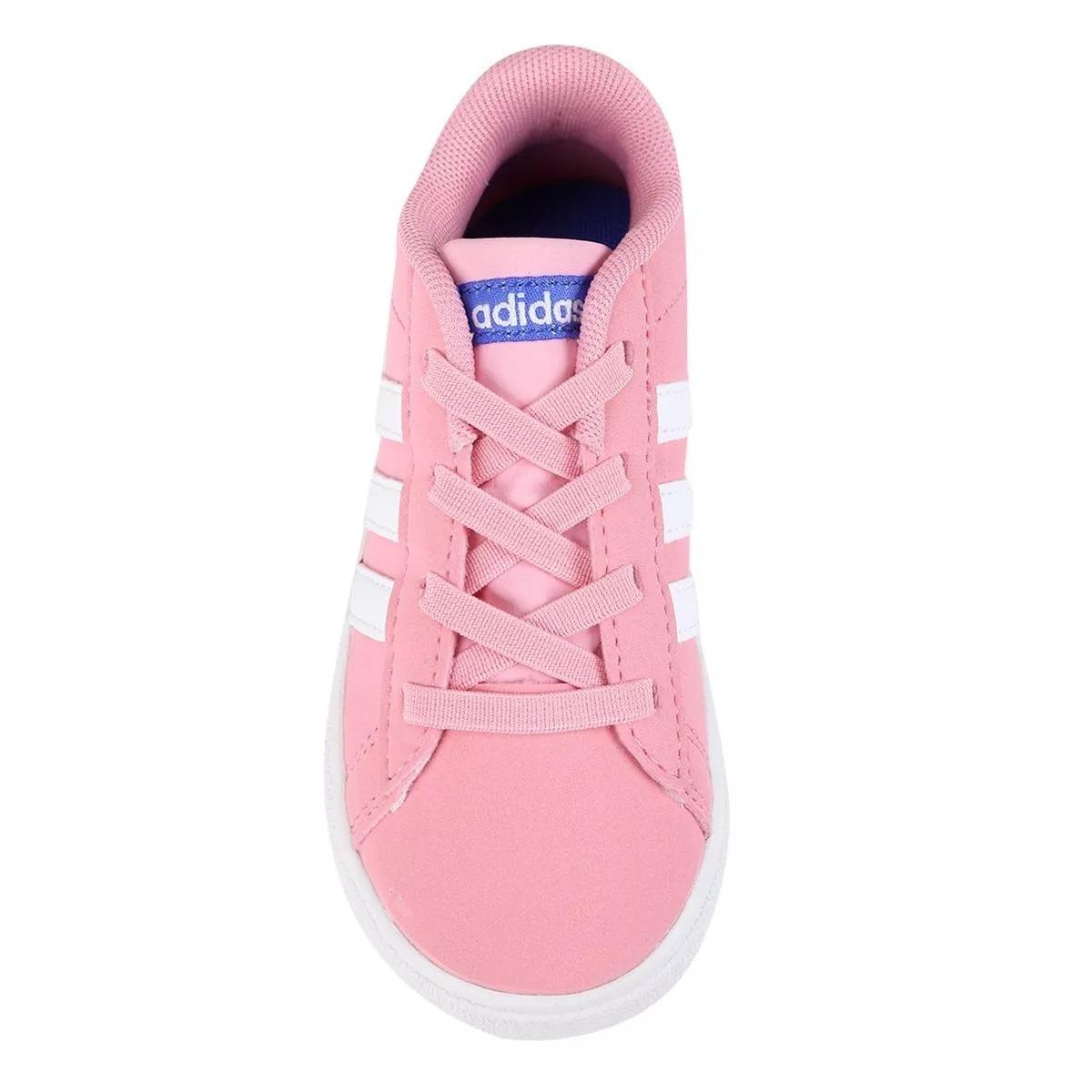 Zapatillas adidas Colegial Nena Neo Daily 2.0 I $ 1.799,00