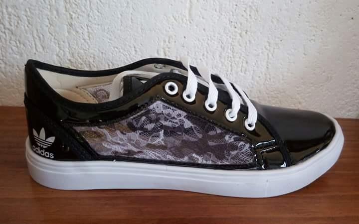 zapatillas de encaje adidas