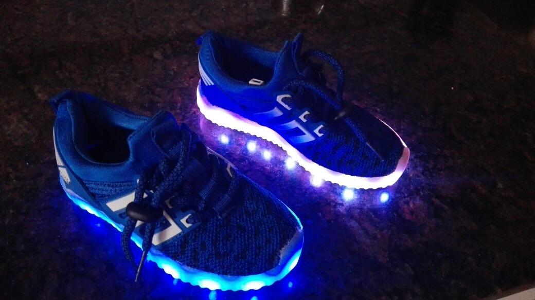 zapatillas adidas con luces mercadolibre