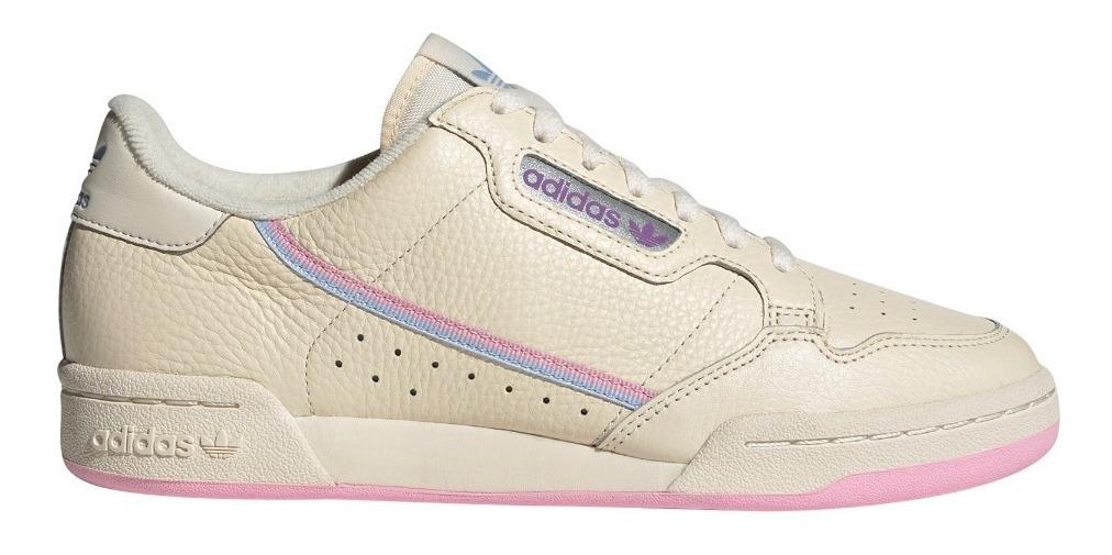Zapatillas adidas Continental 80 Tiza De Mujer Originals