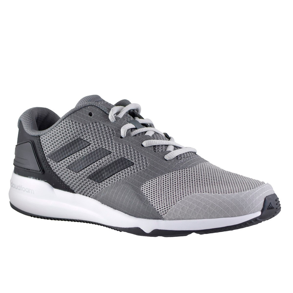size 40 41302 7c78f Zapatillas adidas Crazytrain 2.0 Cloudfoam Hombre Gris - $ 1.800,00 ...