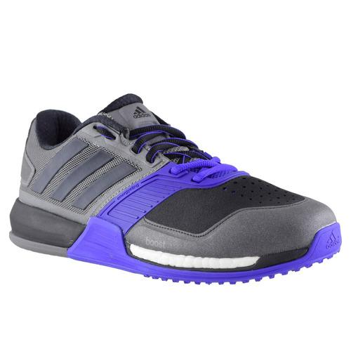 online store fbc67 502c9 zapatillas adidas crazytrain boost hombre gris