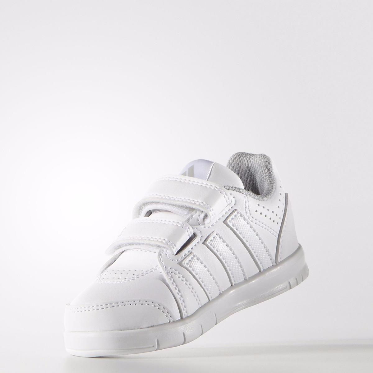 zapatillas adidas niños blancas