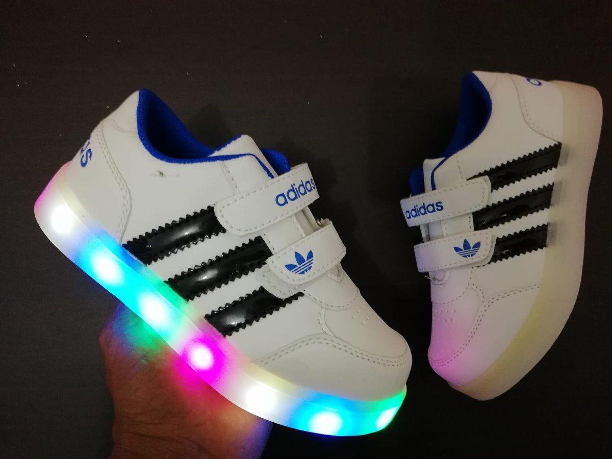 zapatos adidas con luces