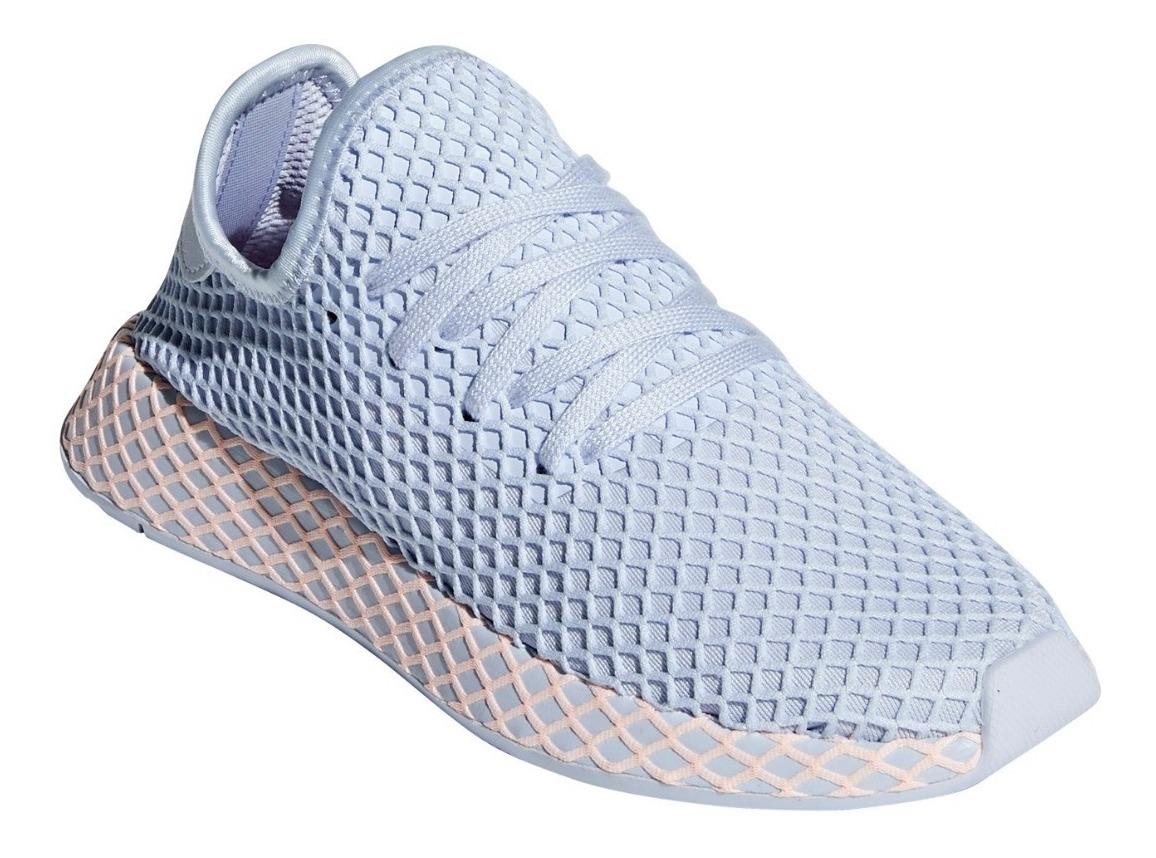 zapatillas adidas mujer celeste