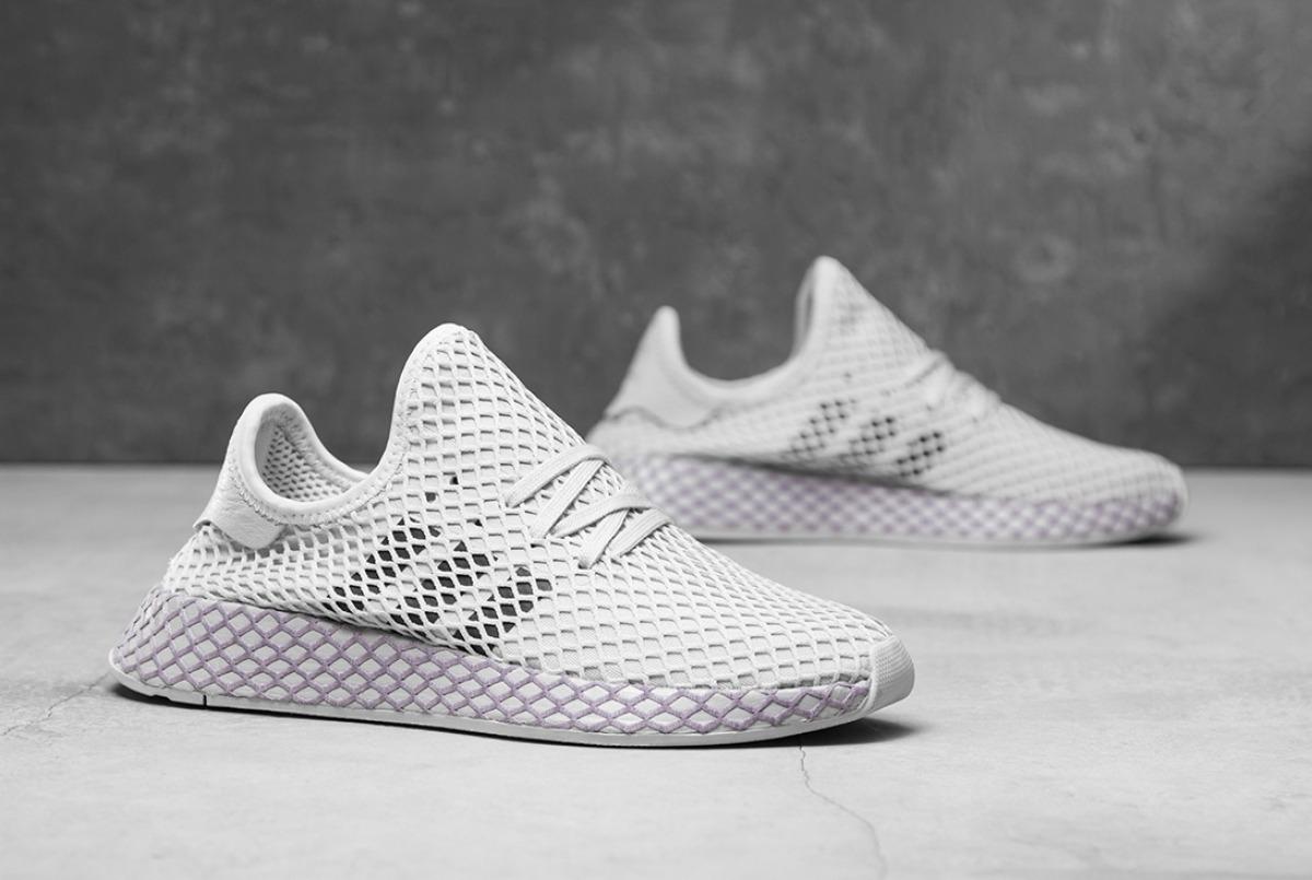 Zapatillas adidas Deerupt Runner Blanco Tiza De Mujer