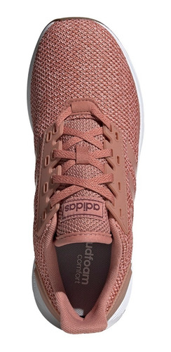 zapatillas adidas duramo 9 running rosa de mujer
