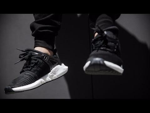 brand new a2ea2 d2382 zapatillas adidas eqt 9317 blanco core negro nuevo 2017