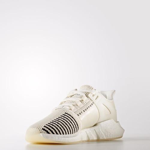 zapatillas adidas eqt 93/17 crema blanco amarillo nuevo 2017