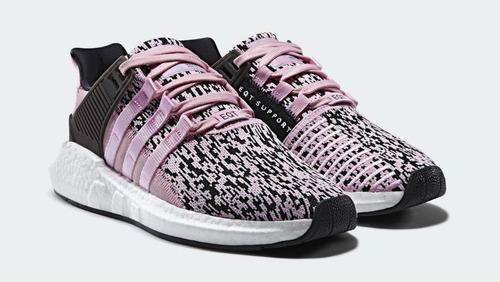zapatillas adidas eqt adv 93/17 rosado mujer original 2017