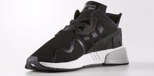 zapatillas adidas eqt crushion adv negro blanco nuevo 2017