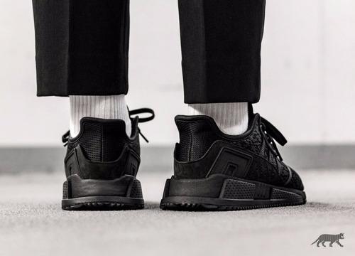 zapatillas adidas eqt cushion adv todo negro nuevo 2017