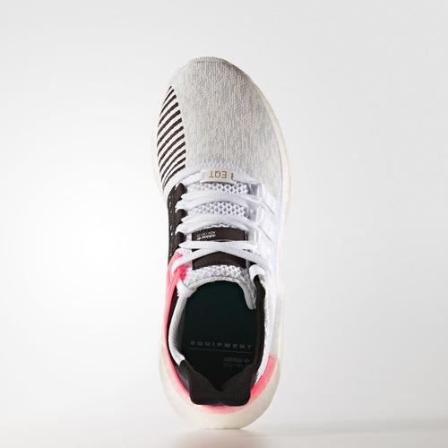zapatillas adidas eqt support 93/17 blanco rosa / nuevo 2017