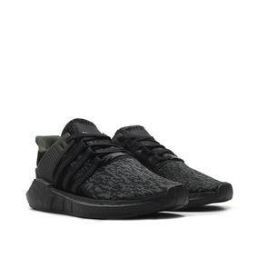 Nuevo Eqt Support Adidas 9317 Negro Triple Zapatillas 2018 A35j4RL