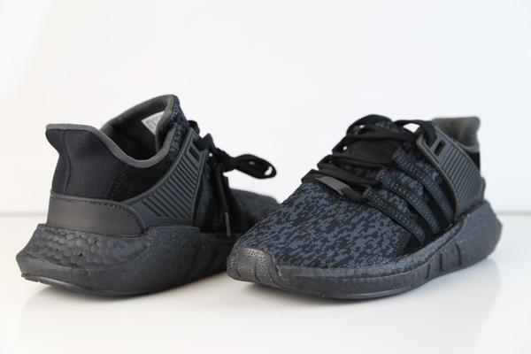 quality design ded67 9c0c3 zapatillas adidas eqt support 9317 triple negro nuevo 2018