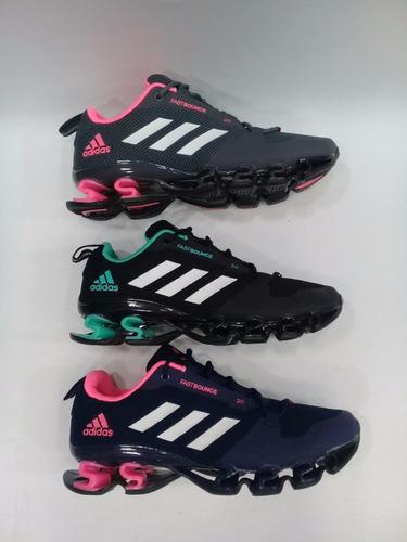 zapatillas adidas fast bounce dama