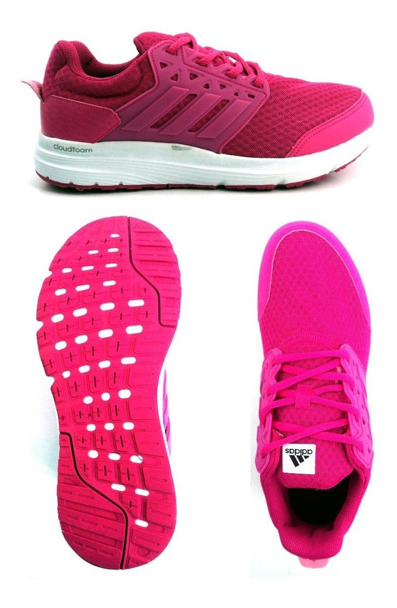 Zapatillas adidas Galaxy 3 Fucsia Running Mujer Aq6562 Eezap