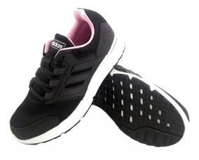 zapatillas adidas mujer negras y rosa