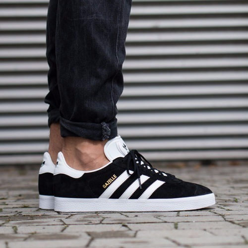 Zapatillas adidas Gazelle Bb5476 Negras