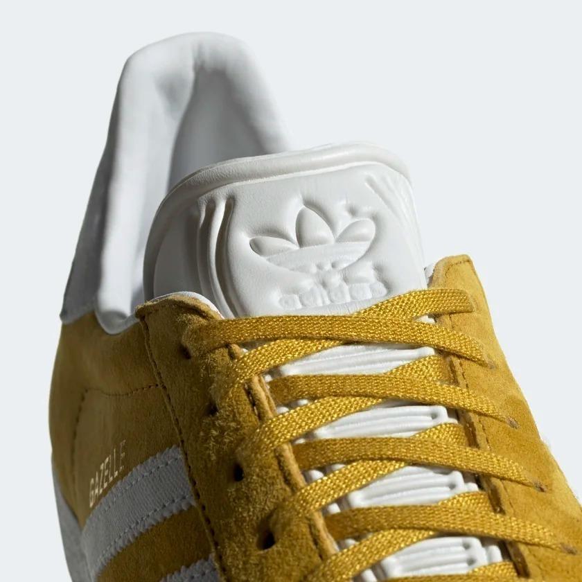 zapatillas adidas gazelle amarillas