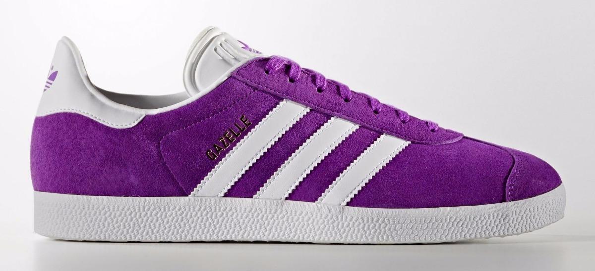 new arrival 796f3 a3336 zapatillas adidas gazelle hombre gamuza premium purpura. Cargando zoom.