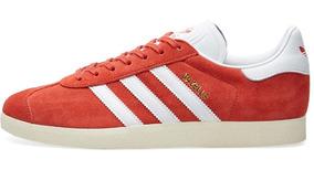 zapatillas adidas rojas mujer
