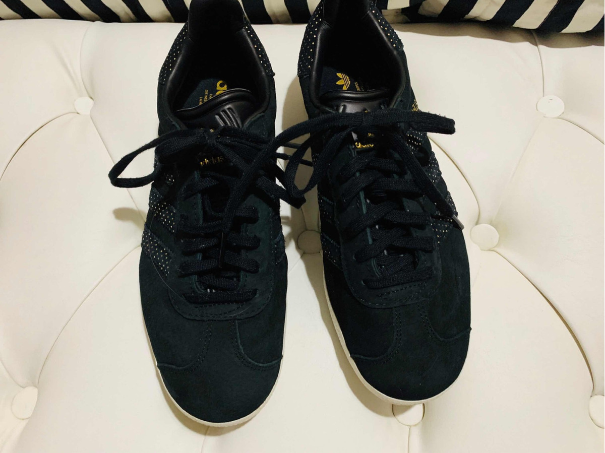 adidas gazelle negras 39