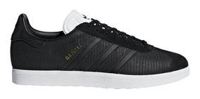 zapatillas gazelle adidas mujer negras