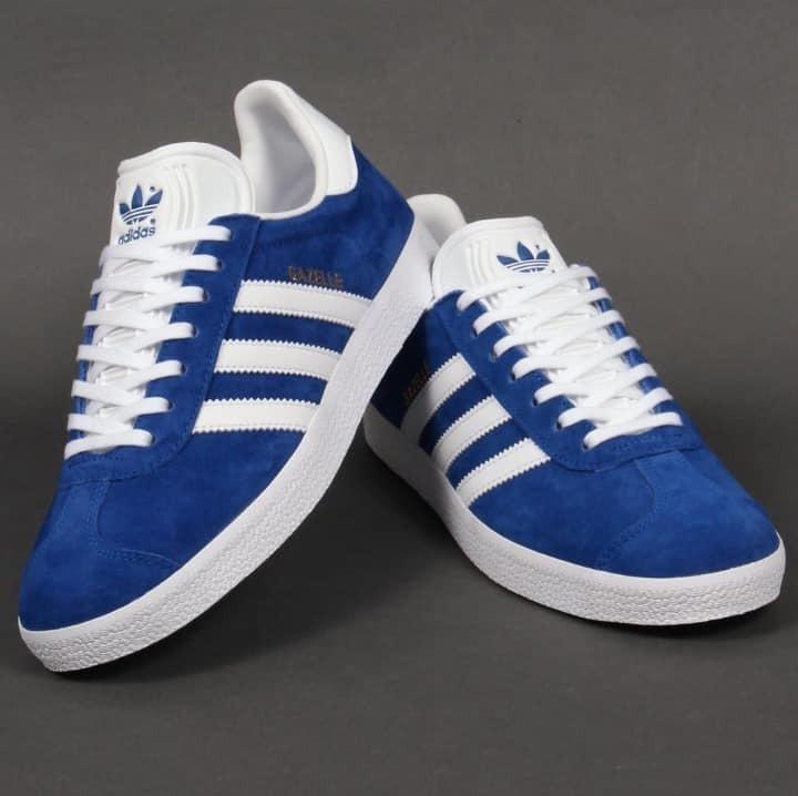 2zapatillas adidas gazelle hombre azul