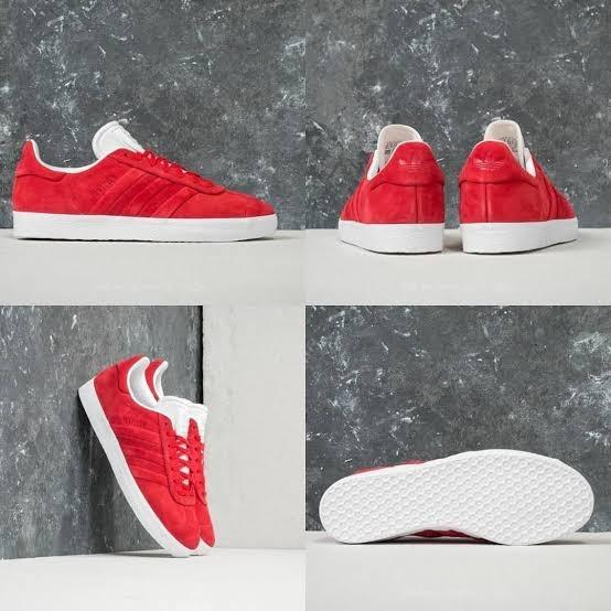 meet 18d25 2fdd9 zapatillas adidas gazelle rojas unicos