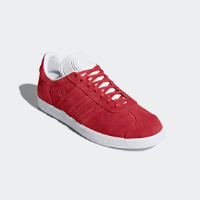 gazelle adidas mujer rojo