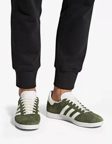 zapatillas adidas gazelle verde hombre