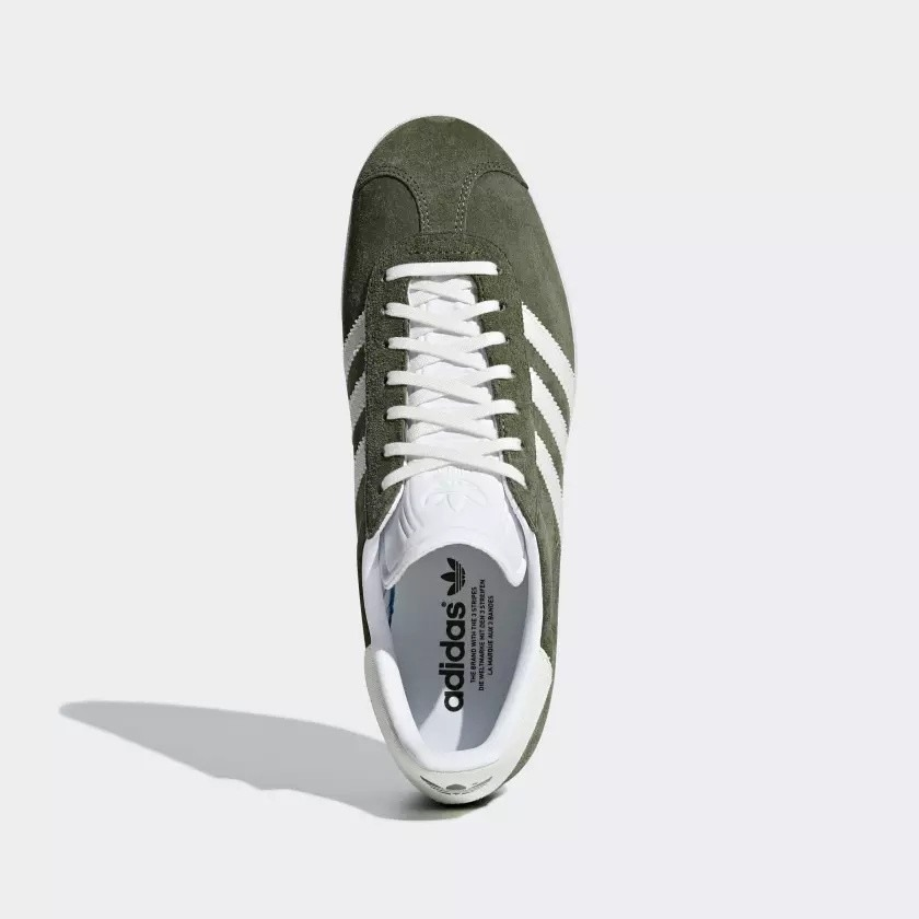 zapatillas adidas gazelle verde