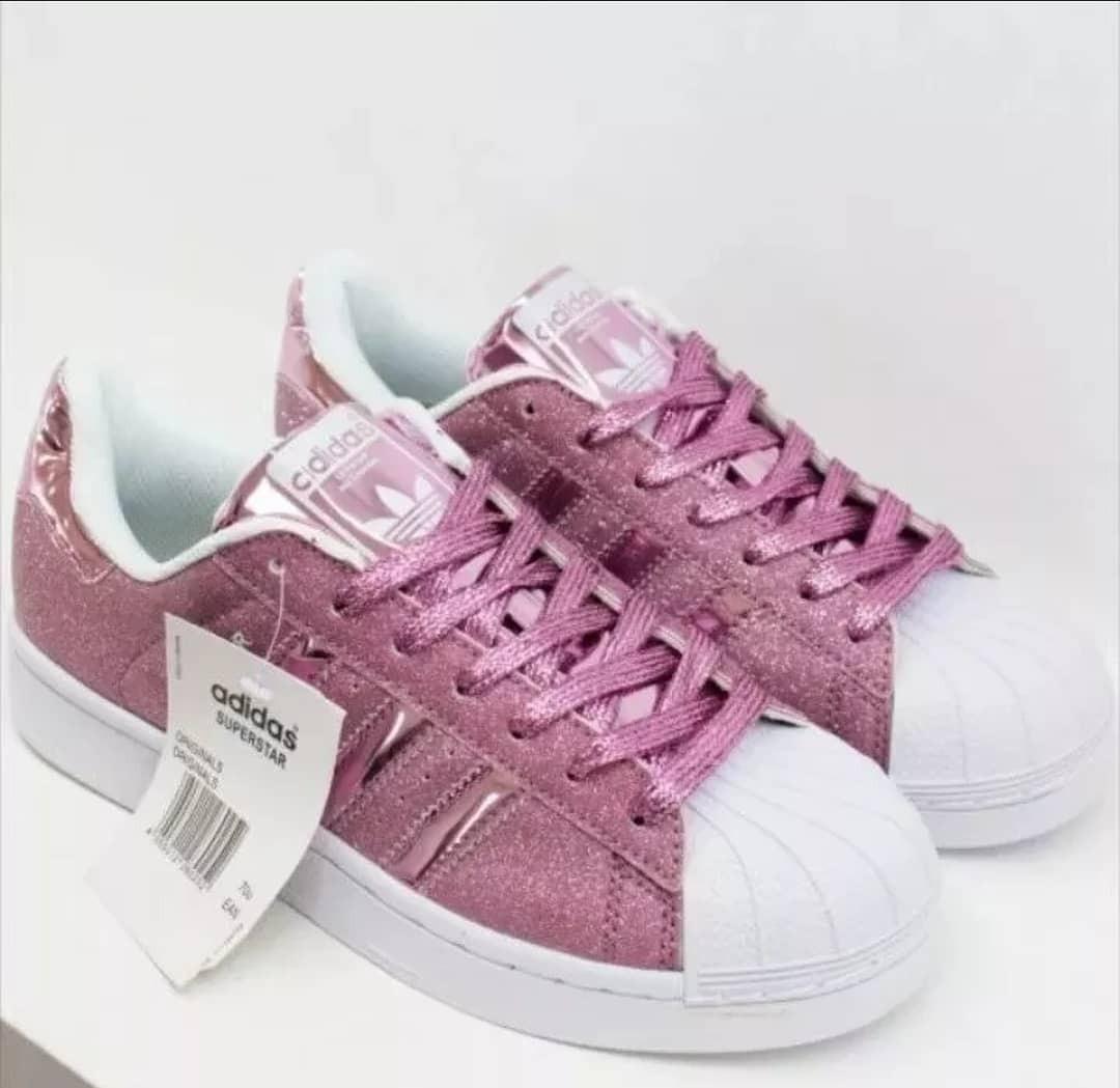 zapatillas adidas glitter color rosa. Cargando zoom. f2ef12e021aa6