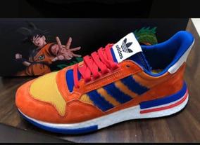 buena reputación grandes ofertas zapatillas de deporte para baratas Zapatillas adidas Goku Edición Limitada 11us