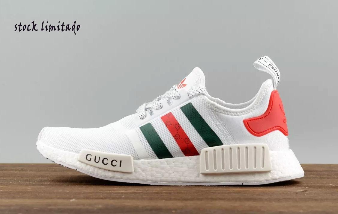 4a69ece77 Zapatillas adidas Gucci Nmd R1 -2018 Exclusive Line - S/ 317,00 en