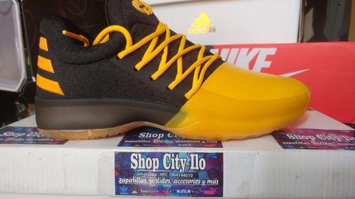 zapatillas adidas harden talla 40 y 41 us7 - amarillas