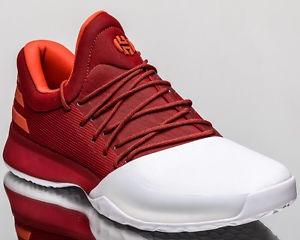 zapatillas adidas rojas y blancas
