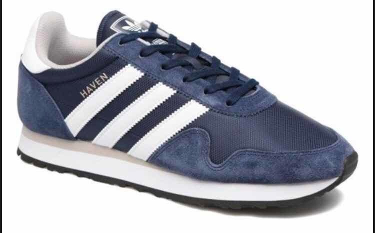 Zapatillas adidas Haven Azul Para Hombre S 200,00