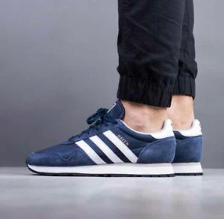 Campaña bádminton contraste  Zapatillas adidas Haven Azul Para Hombre Envío Gratis A Lima - S ...