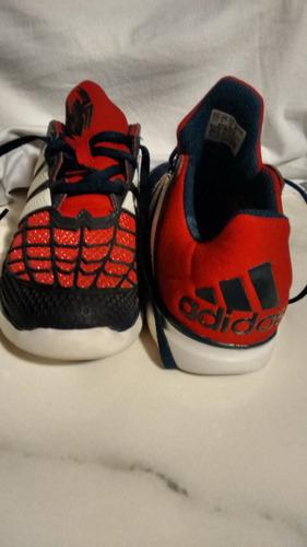 zapatillas adidas, hombre araña originales