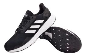 zapatillas negras adidas hombre