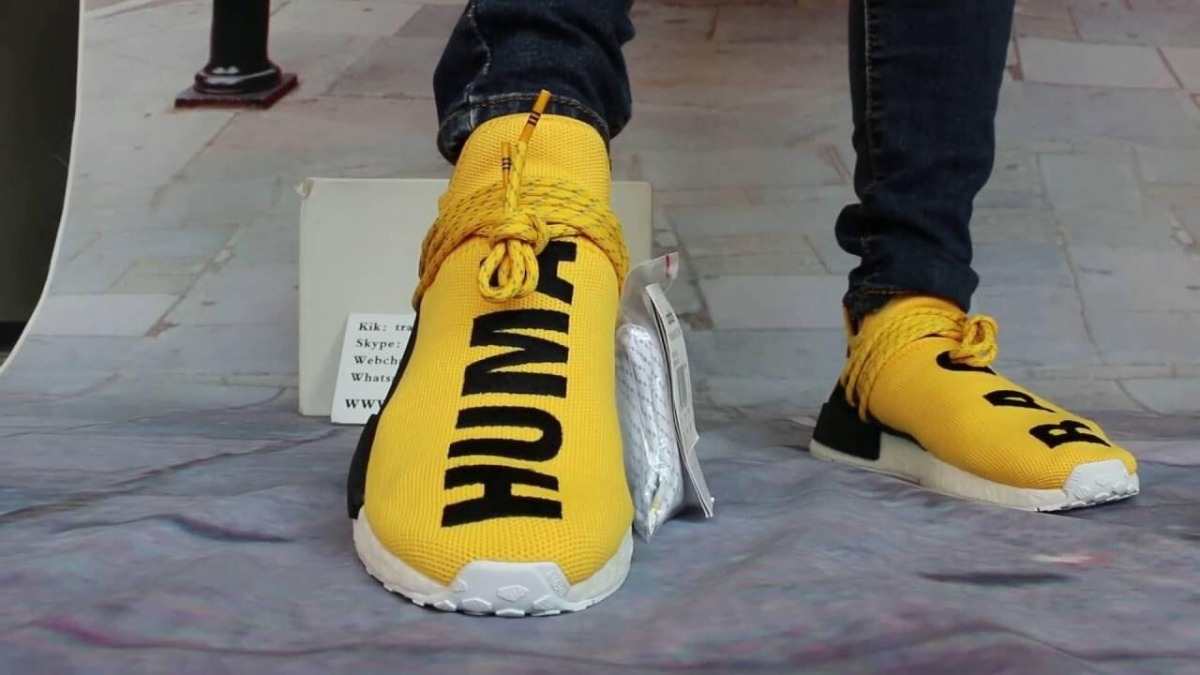 Zapatillas adidas Human Race Amarillas