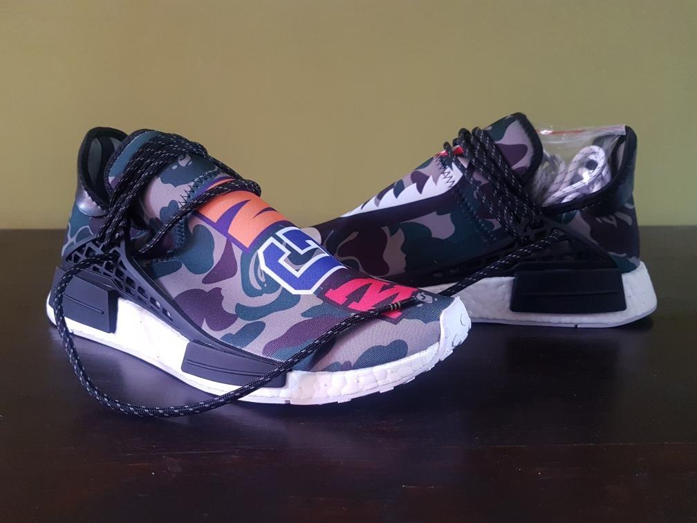 hot sales ae0bf 47cce zapatillas adidas human race x nmd x bape x pharrellwilliams. Cargando zoom.