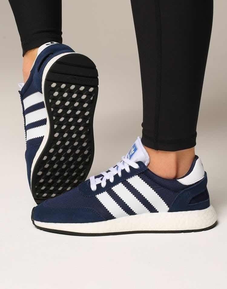 zapatillas adidas mujer i5923 azul