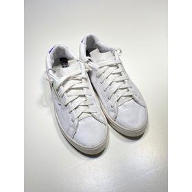 Zapatillas adidas Importada Cuero Blanco Talle 35.5 Us 5 1/2